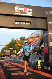Ironman Chattanooga Finish picture