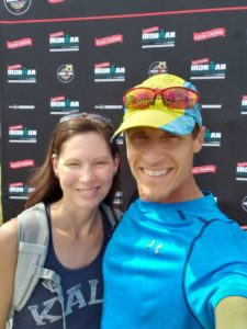 Don and Kathleen at Ironman Chattanooga