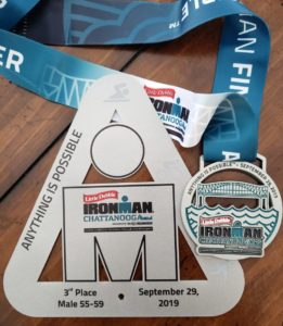 Ironman Chattanooga 3rd Place award
