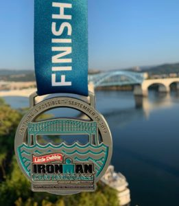 Ironman Chattanooga finishers medal