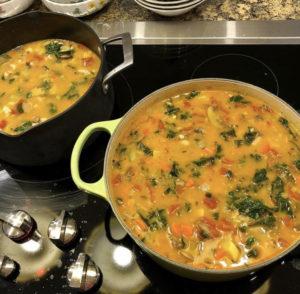 Coconut Quinoa Vegetable Soup